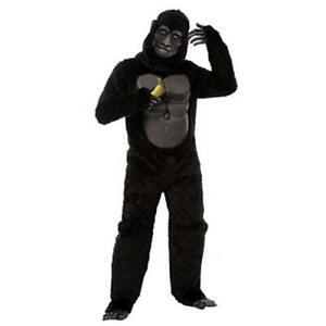Gorilla Halloween Costume for Kids Cosplay Costume Parties, Black, Size 0.0 sZRi
