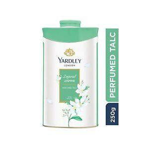 Yardley London Imperial Jasmine Perfumed Talc for Women, 250gm