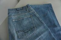 ESPRIT Herren Jeans Hose 33/32 W33 L32 stonewashed blau TOP #BAR