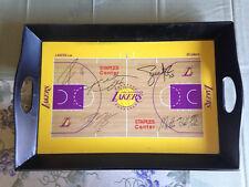LA Lakers 2010-2011 Stadium Promotional Signature Floor Serving Tray Kobe Bryant