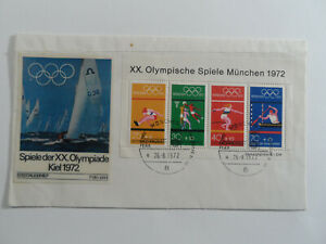 Discount Stamps : GERMANY OLYMPIC 1972 FIRST DAY COVER