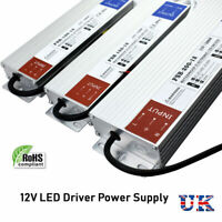DC12V Slim IP67 Driver Waterproof Power Supply Transformer 240V AC to DC for LED
