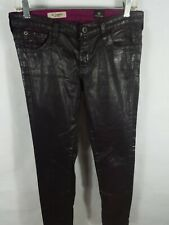 AG Adriano Goldschmied Legging Leatherette LSN 1288 LTR BBY Super Skinny 28