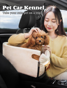 New Dog Safety Car Seat Puppy Booster Seat Center Console Pet Carrier Anti Dirty