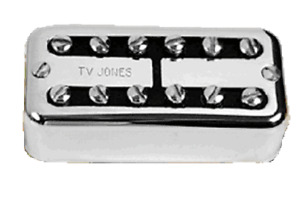 TV Jones Power'Tron Universal Mount Chrome Neck Guitar Pickup