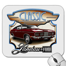 FORD  73' -  76'  LANDAU  COUPE      MOUSE PAD  ( 9 CAR COLOURS)