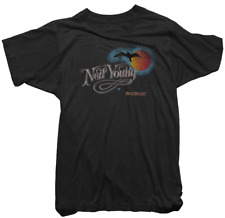 Neil Young Official T-Shirt - Neil Young in Concert Tee - Mens