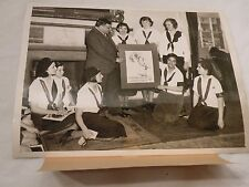 1935 News Photo Camp Fire Girls of America Visit Mayor LaGuardia At City Hall