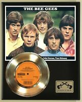 """The Bee Gees """"To Love Somebody"""" Record Display Wood Plaque"""