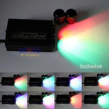 RGB DMX512 LED Fiber Optic Ceiling Light Engine Driver Two Heads