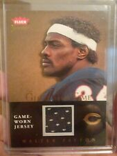 2004 Fleer Greats Walter Payton Game Worn Jersey Card Bears Glory Of Their Time