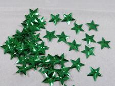 100 Sterne Streuelemente Streudeko Tischdeko Basteln Grün Kartengestaltung 15mm