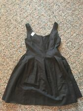 Gap Size 4 Cotton/spandex Black Summer Dress With Pockets!