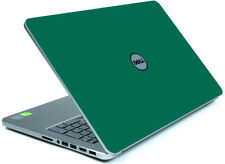GREEN Vinyl Lid Skin Cover Decal fits Dell Inspiron 15 7537 Laptop