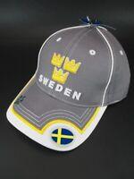 Basecap Schweden 3 Kronen Crown Baseball Kappe Sweden hochwertig  NEU