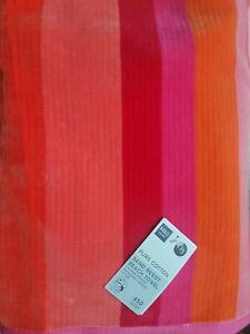 M&S Home LARGE Pure Cotton Sand Resistant Striped Beach Towel BNWT 90 x 160 cm