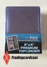 "♦Pokémon/Yu-Gi-Oh!♦ 25 Protèges Cartes Rigide Ultra PRO ""PREMIUM"" Toploader"