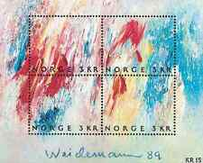 Timbres Arts Tableaux Norvège BF12 ** lot 7822