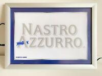 Nastro Azzurro Peroni quadro pubblicitario retro illuminato