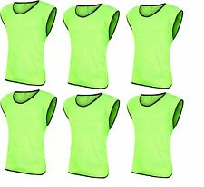 12 Scrimmage Vests Soccer Basketball Team Training Adult Pinnies Jerseys - SALE