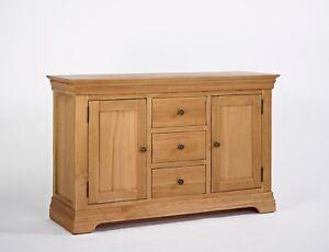 Normandy Oak Large Sideboard