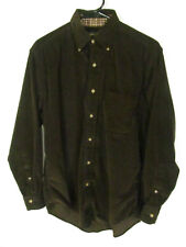 Brooks Brothers Men's Shirt Size S Brown Long Sleeve Button Down Button Collar