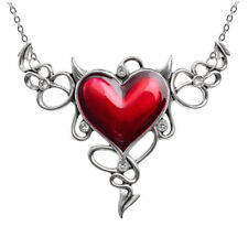 GENUINE Alchemy Gothic Pendant – Devil Heart | Ladies Fashion Necklace