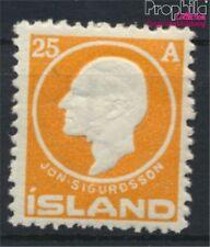 Iceland 68 with hinge 1911 sigurdsson (8883122