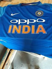 Nike 2018 India National Team Cricket Oppo Polo Jersey Mens XXL