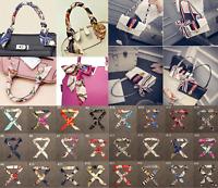 New Silky Twill Handbag Bag Handle Wrap Purse Neck Hair Ribbon Scarf UK
