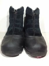 Sorel Mens Size 11 Cold Mountain Black Leather Insulated Winter Boots WB-8