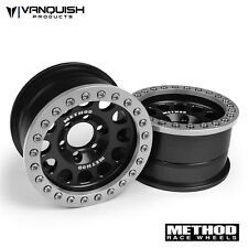 Vanquish Products Method 1.9 Race Wheel 105 Black/Silver Anodized VPS07911