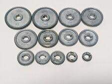 Set Of 13 Atlas Craftsman Dunlap 109 101 618 6 Metal Lathe Change Gears