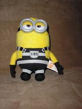 NEW! Despicable Me 3 Deluxe Talking Minions- Huggable Jail Time Tom Plush Minion