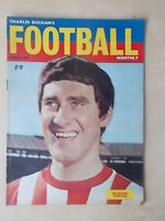 FOOTBALL MONTHLY MAGAZINE MARCH 1967 - SUNDERLAND - OLDHAM
