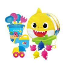 Pinkfong Baby Shark Family Sand Play Bag Set For Kids & Baby