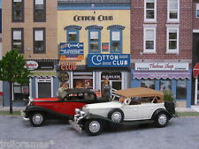 "Diorama ""COTTON CLUB""  Escala 1/43. ¡¡ OFERTA !! JRdioramas."