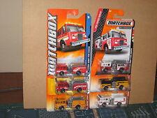 Matchbox Pierce Dash Fire Engine Truck Lot of 6 Variation San Diego  Appleton