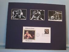 Heavyweight Champ Rocky Marciano vs Jersey Joe Walcott  & First Day Cover