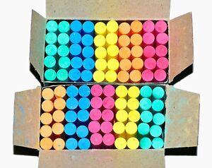 Dustless dustless colour chalk Board Chalks 100pcs (pack of 4)