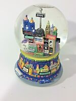 Snow Globe New York Musical Broadway Play 2000 Twin Towers Auld Lang Syne