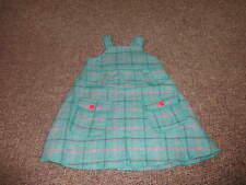 BOUTIQUE CATIMINI 2A/86 2T PLAID DRESS GORGEOUS