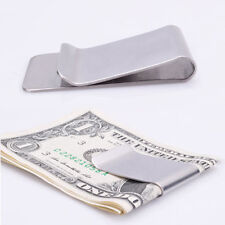 Slim High Quality Money Clip Credit Card Holder Wallet Useful Stainless Steel