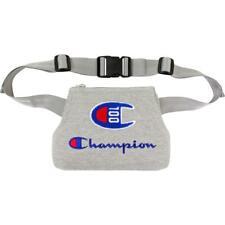 Champion Mens Gray Fanny Pack Waist Pouch Pocket Travel Case O/S BHFO 5847