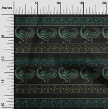 oneOone Floral & Peacock Block Print Sewing Fabric By The Yard - BP-1218B_32