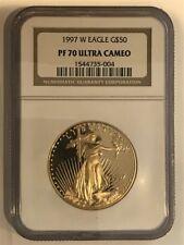 1997-W Gold Eagle $50 NGC PF 70 ULTRA CAMEO- American Gold Eagle
