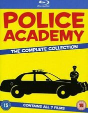 Police Academy 1-7 The Complete Collection Blu-ray [DVD][Region 2]