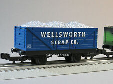 LIONEL THOMAS & FRIENDS SODOR WELLSWORTH SCRAP CO CAR o gauge train 6-81423 NEW