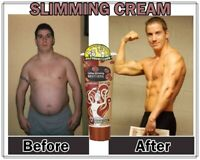 Strongest Men Slimming Cream Fat Burning Muscle Growth Gel Weight Loss Herbal