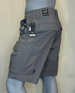Fox Racing - Slambozo Shorts 2.0 - Mens - Fox Head - Pewter - Cargo Shorts